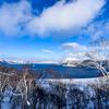 北の大地 -摩周湖・冬2-