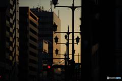 暮れる横浜。