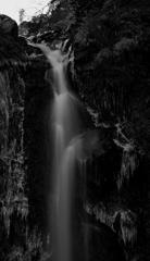 大棚の滝。1