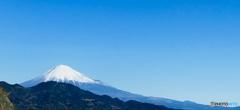 1月14日の富士山