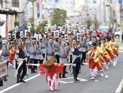 よさこい東海道 2017本祭