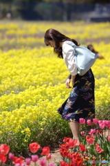 花のような人 ~菜の花畑編~