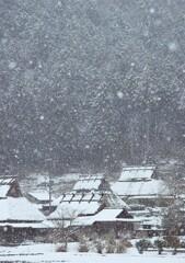 里山の雪景色 弐