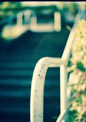 階段手摺傷