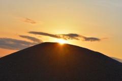 荒川の日の出⑧