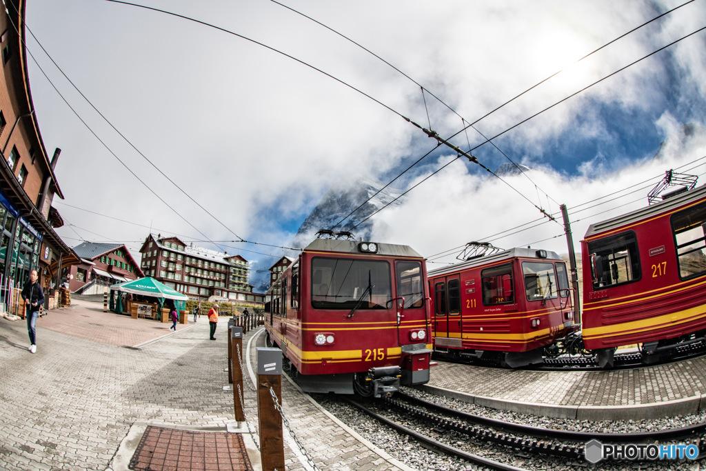 スイス ユングフラウ鉄道3