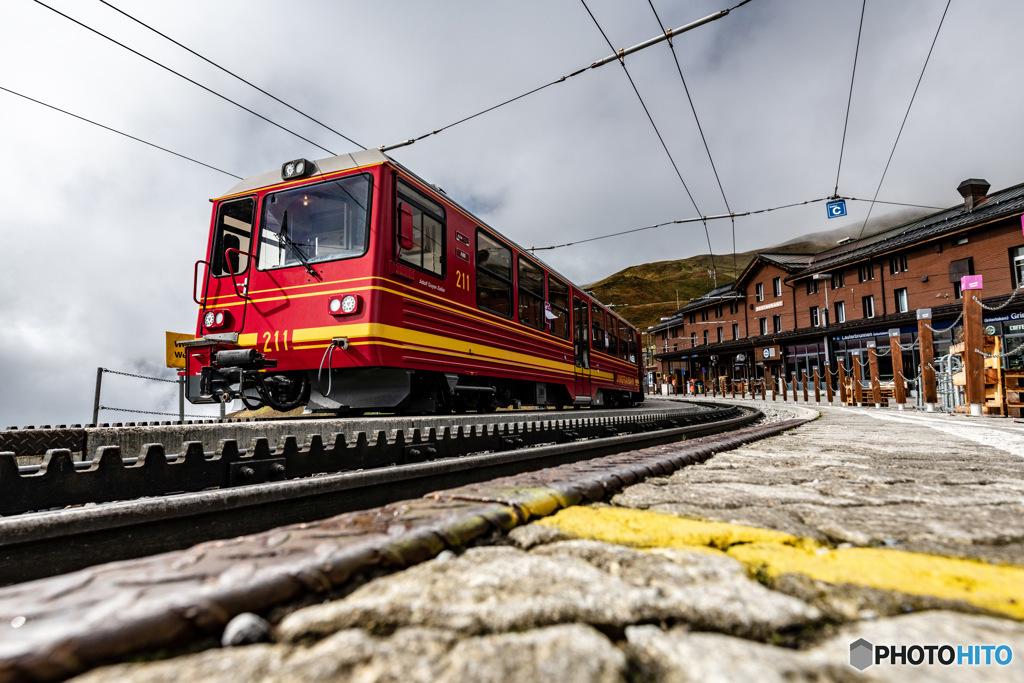 スイス ユングフラウ鉄道2