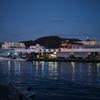 夜の沼津港