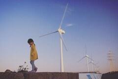 風を感じて