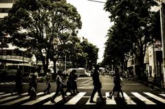 Abbey Road 風・・・。