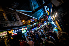 Beer street in Ha Noi