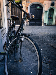 A bicycle in Rome