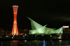 神戸の夜景で試し撮り