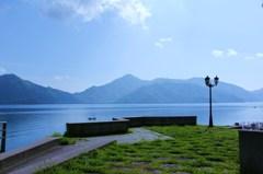 初夏の中禅寺湖