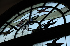 鳩山会館(ステンドグラス)