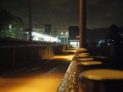 駅前。。。帰り道。。。