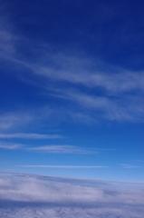空の上の方