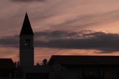塔のある学校