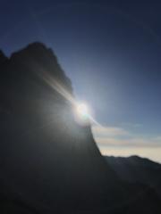 夏山の閃光