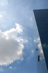 sky and square
