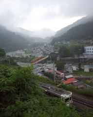 木曽の風景(上松町)