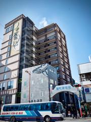 長崎市中央橋、ホテル開業