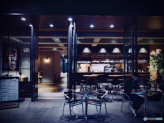 Cafe space : Sleepless Ginza, Tokyo 2020
