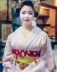 祇園、舞妓 豆珠 2018 ちおん舎