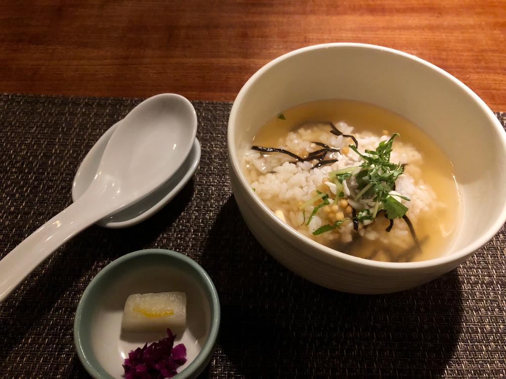 KYOTO EAT : 京都 祇園町(ぎをんまち)鯛茶漬け