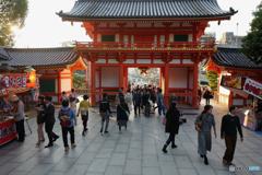 Yasaka shinto Shrine Nov, 2017