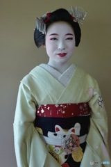 Gion kobu Maiko Memesumi