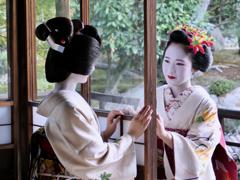 Scene II Kyoto 渉成園 適翠軒のふたり Deux