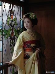 Ruff sketch Gion kobu Maiko