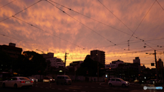 today's evening, Kokaido intersection