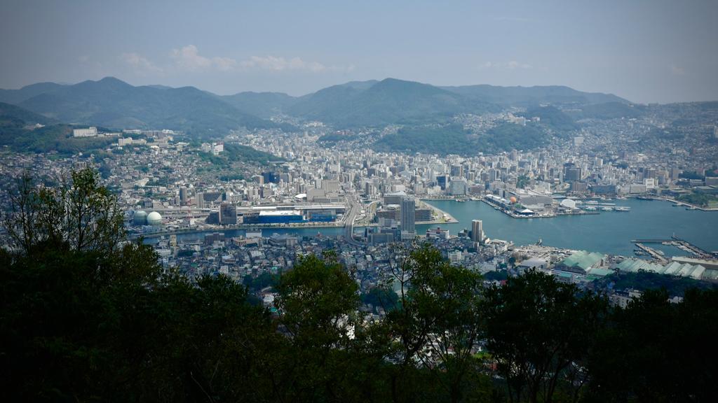 稲佐山からの眺め、令和二年九月