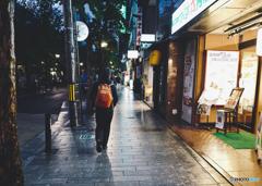 京都夕暮れ 木屋町通り歩き