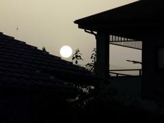 White Sunset time