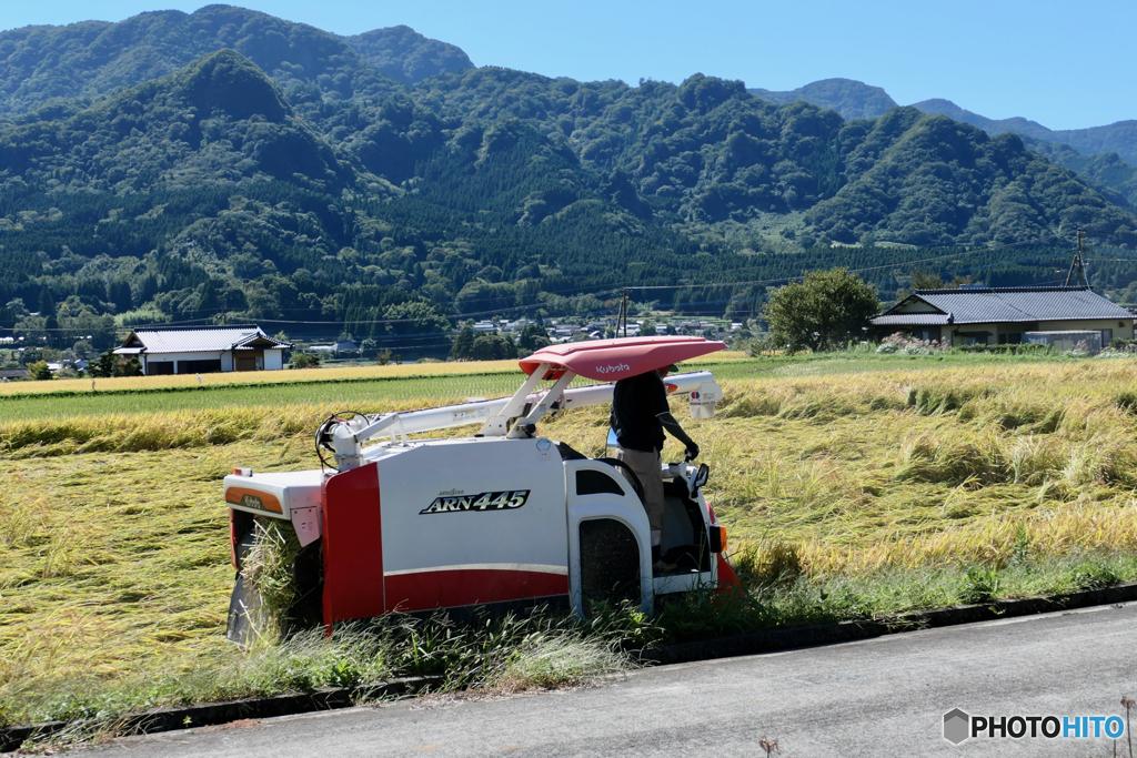 田園風景、南阿蘇村