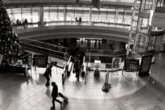 In Haneda domestic No2 Terminal