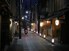 盛夏の夜 2018 7月:京都 宮川筋