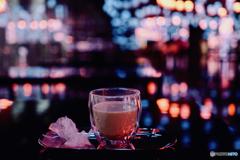 Maccha Latte break : Hotel Lobby