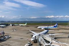 Tokyo HANEDA view