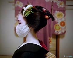 令和三年 睦月 京都 祇園町「先笄」II