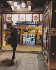 Passing moment : Kushida Shrine