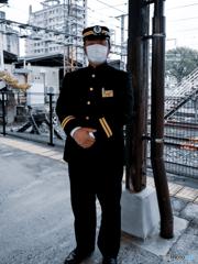 門司港駅・副駅長さん