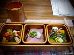 BENTO : Around the Kyushu August menu