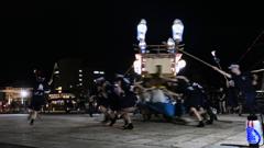 川船・魚の町、おくんち広場