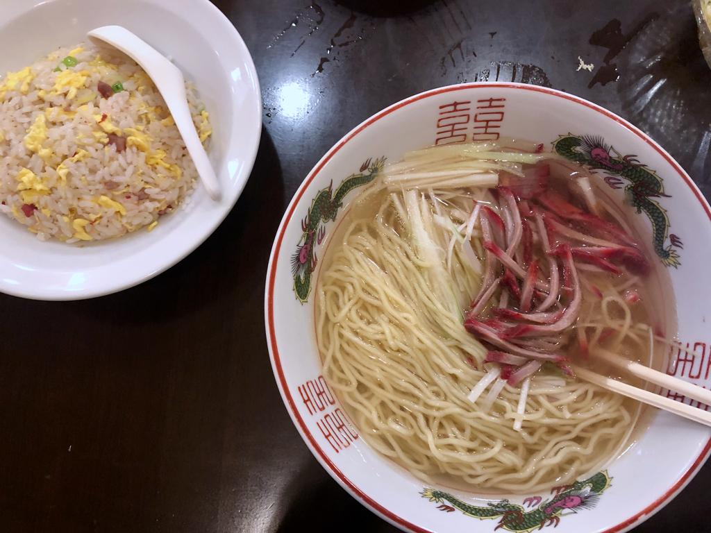横浜中華街で何食べた?