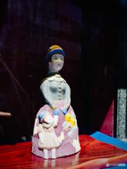 プレイバック八月:長崎市鍛冶屋町の西洋婦人