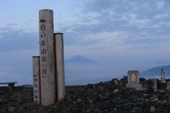 塔の岳山頂